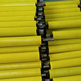 polyurethane urethane PU parts products -logistic rollers-High industry Tech.jpg